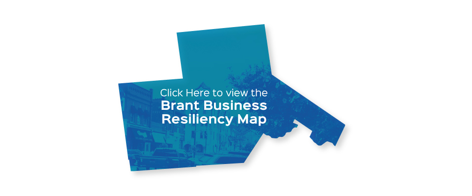 Brant Business Resiliency Map