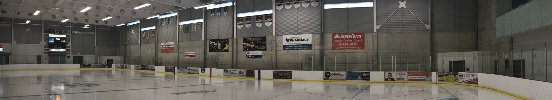 advertising at the Brant Sports Complex